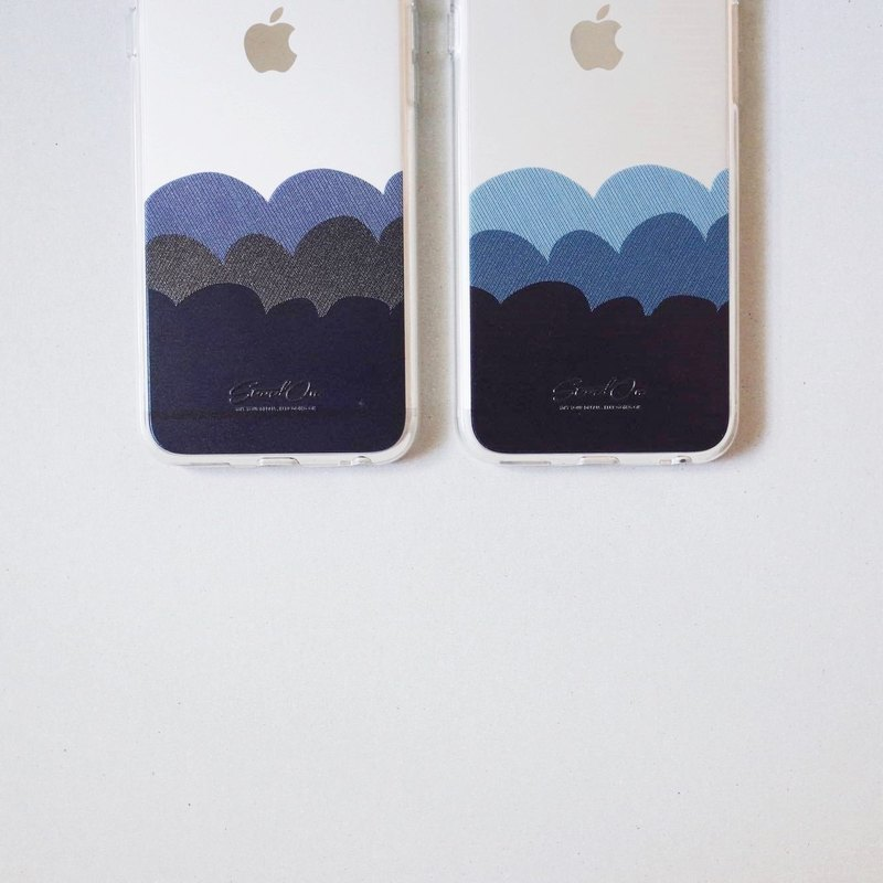 | StandOn | Wave Collection Thread Texture Phonecase - Ocean Blue 海浪車線質感手機殼