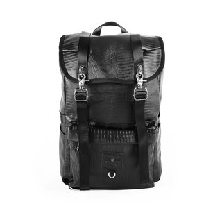 RITE Army Bag (L) - Black Alligator
