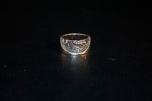 | Alarein | handmade silver | western series | Ring | Autumn