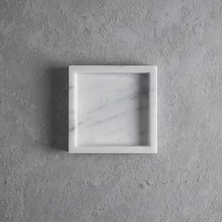 Marble compartment tray S