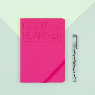 2018 PREMIUM LIGHT PLANNER Calendar / Account - Pink