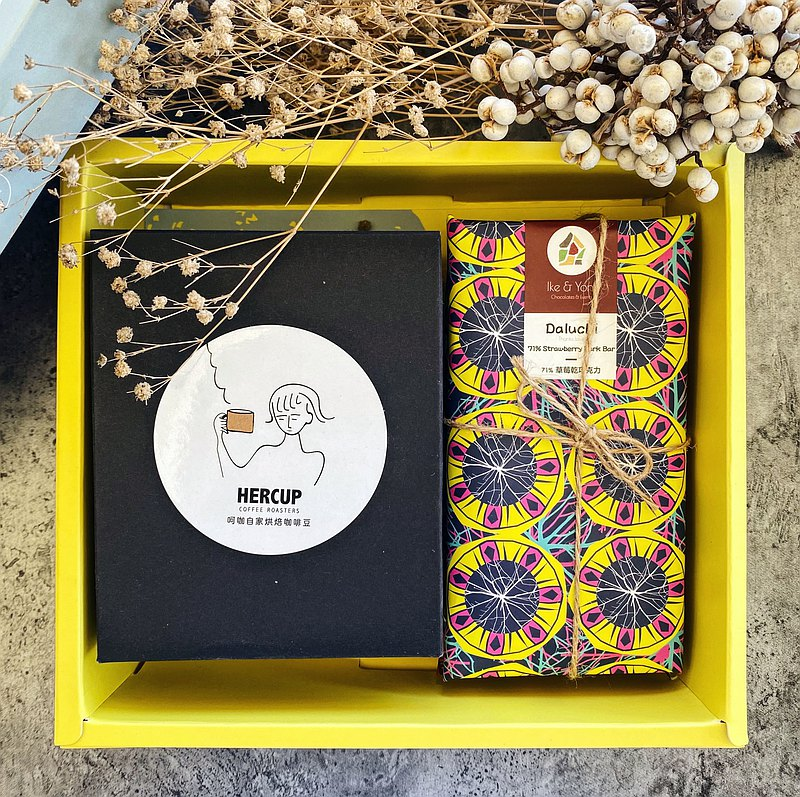 【禮盒組】巧克力 bars 任選2 + 綜合濾掛式咖啡盒裝8入