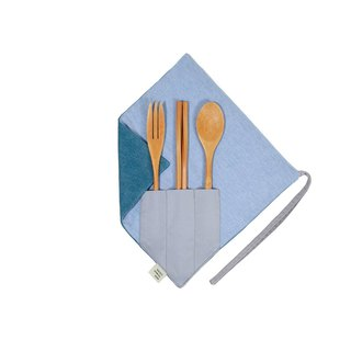 [One corner chopsticks set] - Shallow Denning
