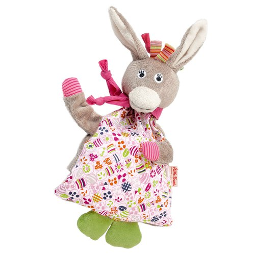 German century brand Käthe Kruse Donkey Rosina little ass cold hot doll pillow