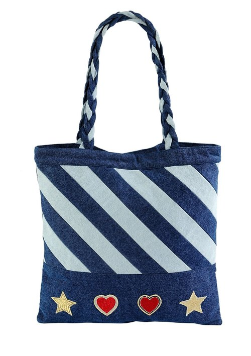 Dare to be Different Denim Tote Bag