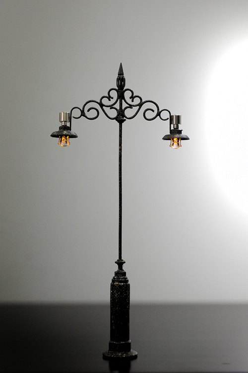 Pocket. Models. Miniature. European Style Streetlight 3