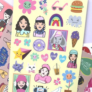 MINI STICKER SHEET - 365DAY