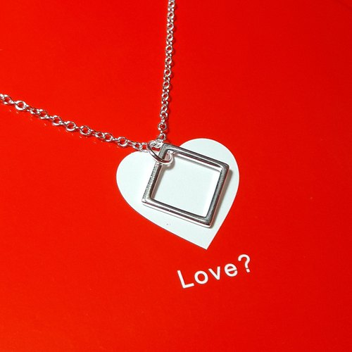 Strong love 925 sterling silver necklace lover limited birthday gift