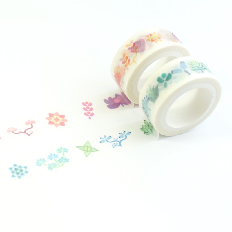 [LonelyPlanet2.0] Paper tape - Succulent Plants 3 Collection(2pic - spacial price)