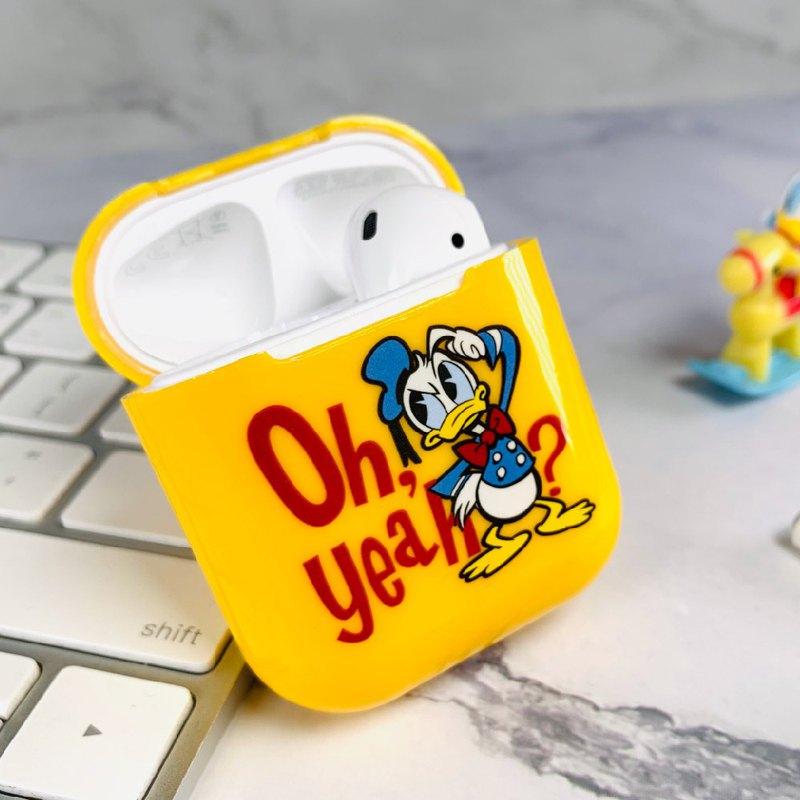 【Hong Man】迪士尼正版授權 AirPods硬式保護套 唐老鴨