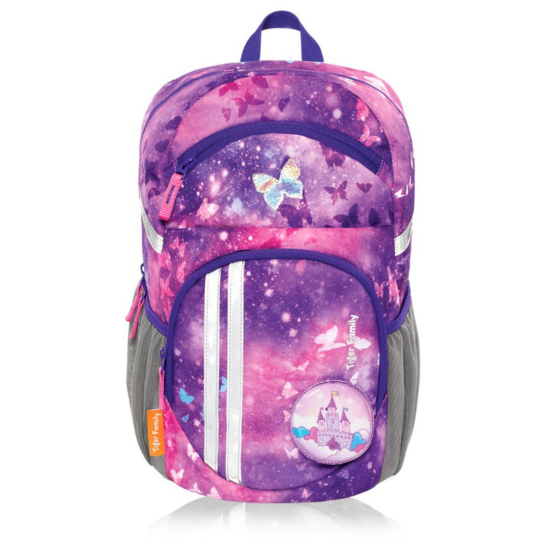 Tiger Family Jumping Leisure Ridge Backpack - Psychedelic Star Powder