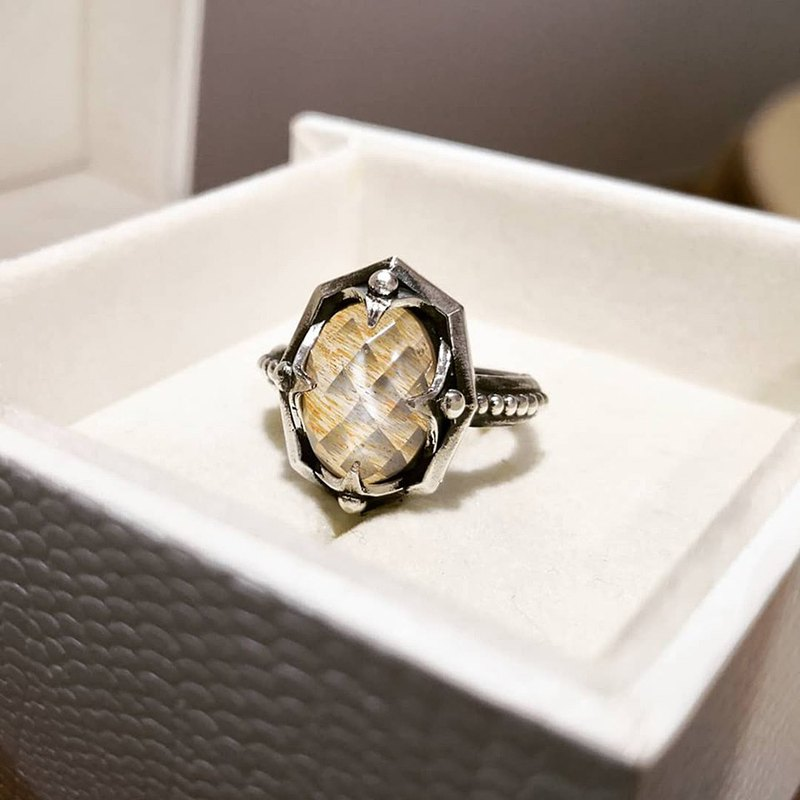 Limited Edition - Rose Thorn European Style Vintage Silver Ring