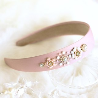 Lovely Enamel Flower Decoration Headband