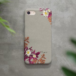 red fern Daisy flower iphone case สำหรับ iphone7  iphone8, iphone8 plus ,iphonex