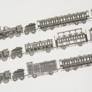 Washi Tapes - Vintage Steam Train