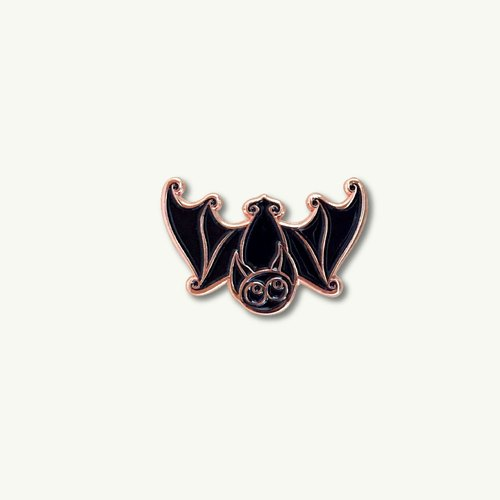 Black Bat Pin