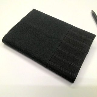 Exquisite A6 cloth book clothing ~ black (single product) B04-043