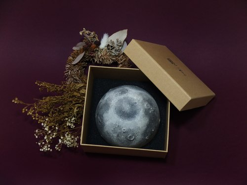 Handmade Ceramic Moon Bowl Christmas Gift Box