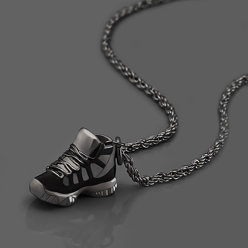 Sneakers necklace