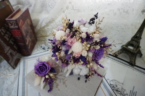 Happy flower ceremony - Amaranth Dried Flowers Flower eternal life - the bride's bouquet*exchange gifts*Valentine's Day*wedding*birthday gift