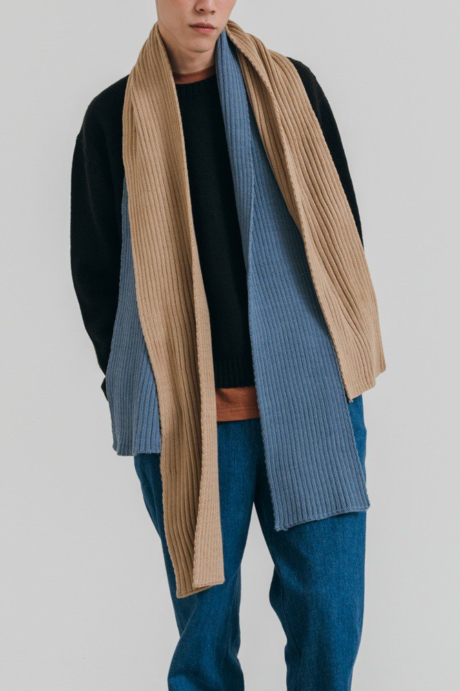 Hao Ribbed Scarf Pit Scarf (2 colors)