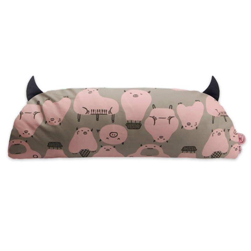 Korea Daby Little Monster Toddler Pillow - Pig Little Monster