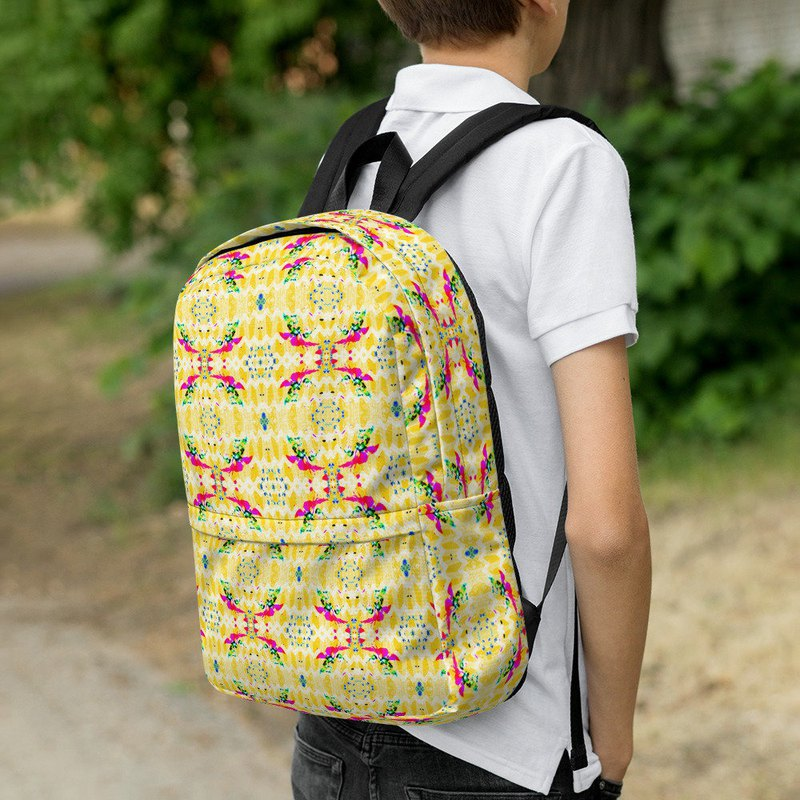 Elf Fairy Summer Lemon Backpack