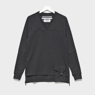 Wythe.jr Waist Sleeve Sleeve Layer Cardigan _ Black