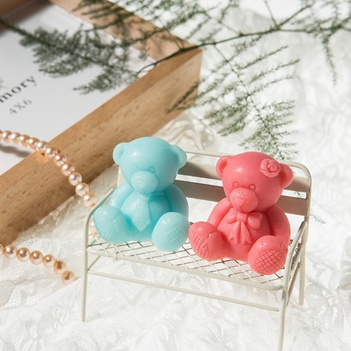 Cute Bear Soap ~ Wedding Accessories / gifts / gift visitor / travel soap / secondary approach