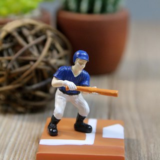 SUSS Japan Magnets Table Olympic Games Series Tabletop Small Mobile Phone Holder (Playing Baseball)