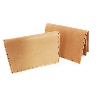 FULLGRAIN │ original color cow leather business card holder