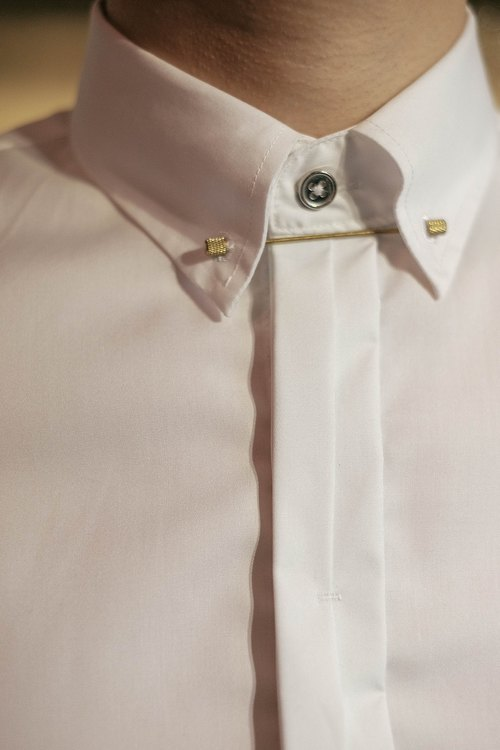 HIATUS collar shirt gentleman single product