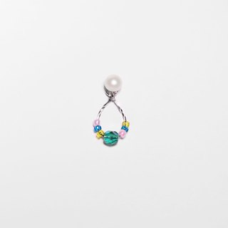 Beaded Series | Colourful Grass (1st Edition) Pearl Studs