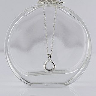 Sterling Silver Infinity Necklace