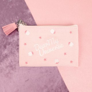 Cherryblossom universe mini pouch cherry blossom mini cosmetic bag