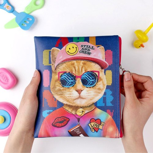 STILL AND CHEW Cute Cat Cosmetic Bag - Catvely
