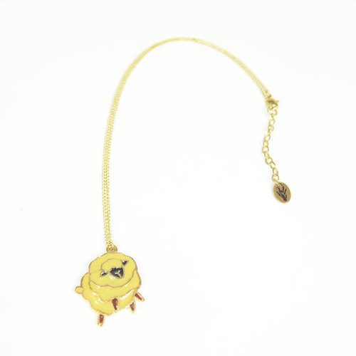 Doom Animal Party Brass Necklace _ Mian Yang Sheep _ Fair Trade