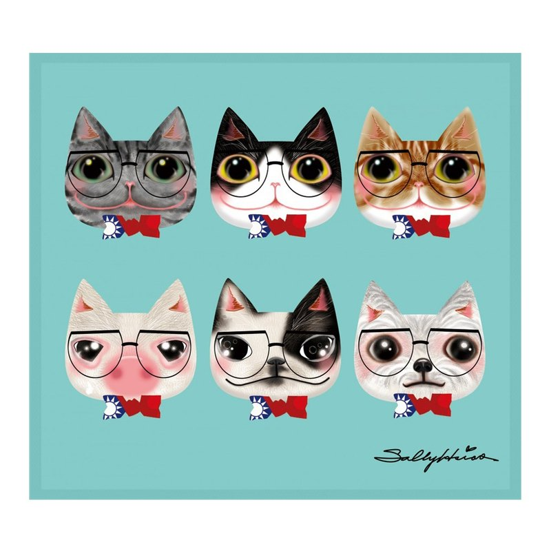 Illustrator Series Sally - Detective glasses Wang meow ll Wipes