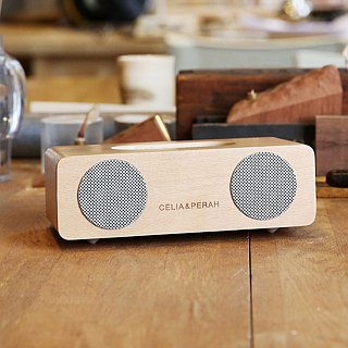 CELIA & PERAH M2 wireless high-resolution solid wood sound - beech wood color