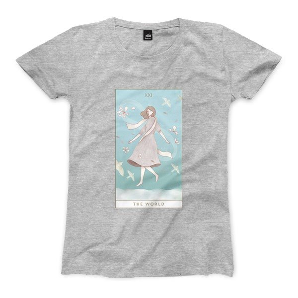 XXI | The World - Deep Heather Grey - Women's T-Shirt