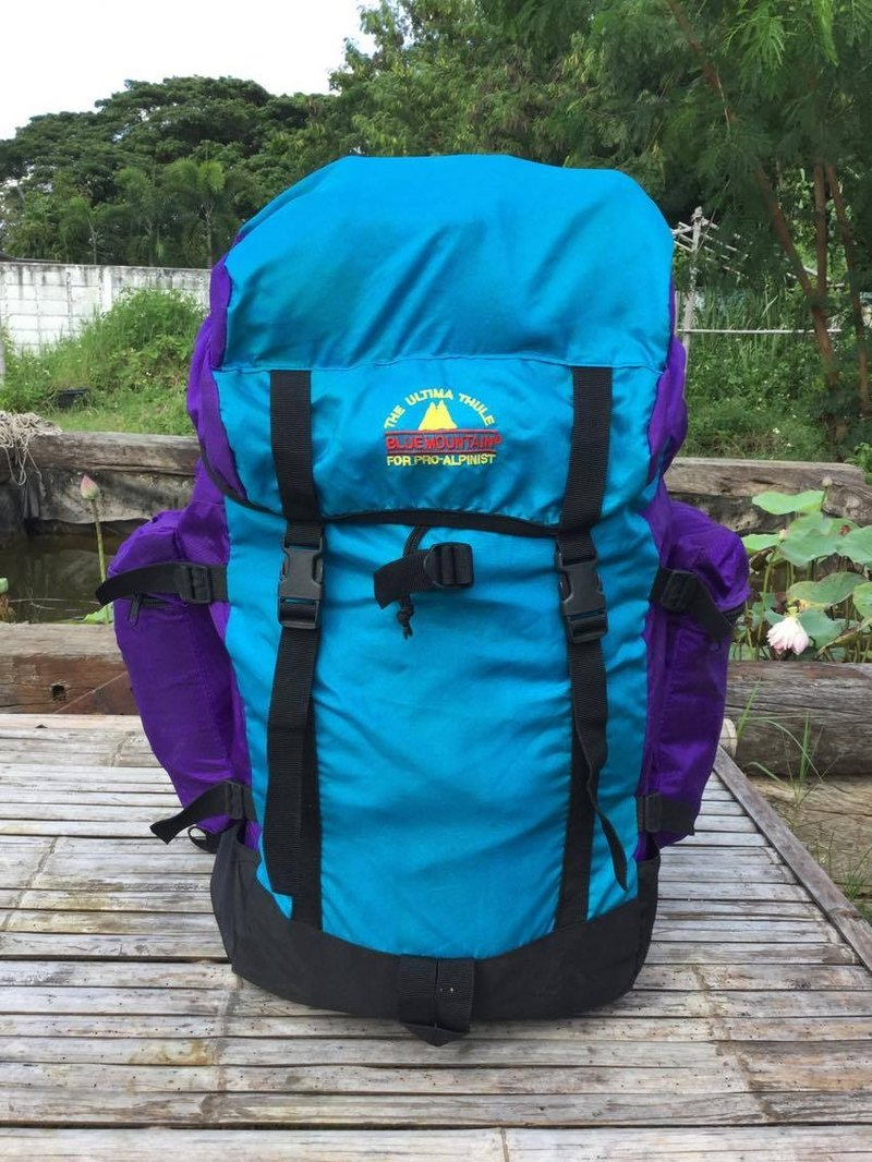 "EARTH.er :: Vintage系列 :: │""Blue Mountain"" Vintage Backpack │"