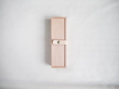 Wooden pencil cases gift stationery Storage