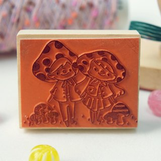 Stamp / handle stamp / we are for each other