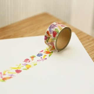 Flower 3 - Washi Masking Tape - OURS Green Thumb Series