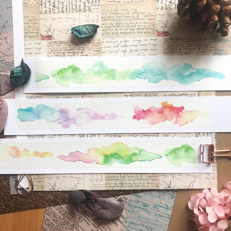 雲彩紙膠帶