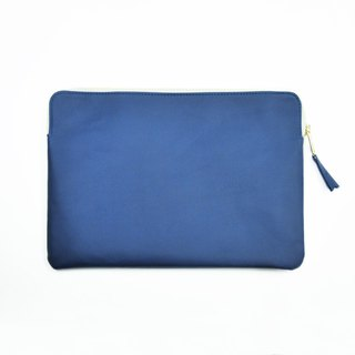 "Bellagenda 10.5"" Tablet Bag Customized Branded Pouch Bag Cover Army Blue"
