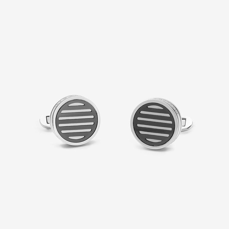 Maverick & Co. - Oculus Cufflinks (Silver)