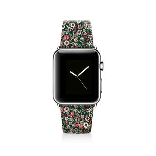 Floral Apple watch band, Decouart Apple watch strap S007 (including adapter)