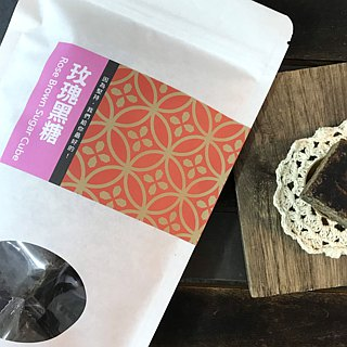 【Good day good food】 good drink series handmade rose brown sugar (3 boxes into)