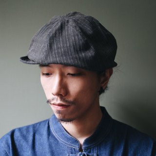 Omake Omabow Mushroom Cap / Striped Grey Green